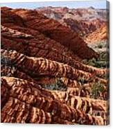 Snow Canyon 2 Canvas Print