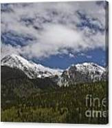 Snow Capped San Juans Canvas Print