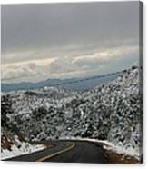 Snowy Mountain #2 Canvas Print