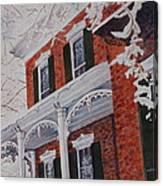 Snowy Yesteryear Canvas Print