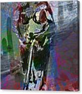 Sober Scooter Canvas Print