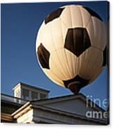 Soccer Ball Over Long Branch Canvas Print
