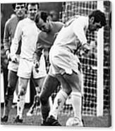 Soccer Match, C1970 Canvas Print