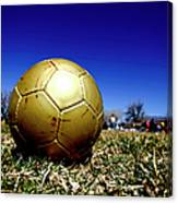 Soccer Season Starts Canvas Print