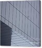 Soft Gray Glass Canvas Print