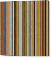 Soft Stripes Ll Canvas Print