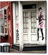 Soho Doorway Canvas Print