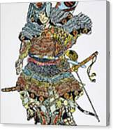 Soldier: Samurai Canvas Print