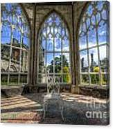 Solitary Conservatory Canvas Print