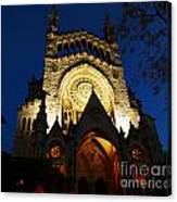 Soller Cathedral Canvas Print