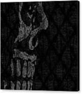 Sombre Skull Canvas Print