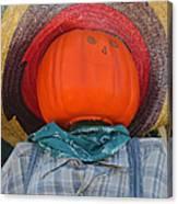 Sombrero Scarecrow Canvas Print
