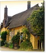 Somerset Tea Room Canvas Print