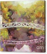 Somes Bridge - Somesville Maine Canvas Print