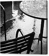 Sometimes It Rains Canvas Print