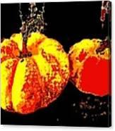 Sonic Pumpkins Canvas Print