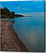 Soothing Shoreline Canvas Print