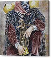 Sotto Il Peso De Sa Carriga Canvas Print