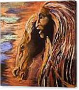 Soul Of Wild Horse Canvas Print