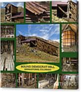 Sound Democrat Mill Compilation Canvas Print