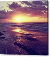 South Carolina Sunrise Canvas Print