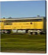 South Dakota Central Train Canvas Print