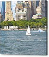 South Ferry Water Ride4 Canvas Print