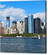 South Ferry Water Ride5 Canvas Print