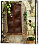 South Of France Canvas Print