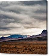 South Of Socorro Canvas Print