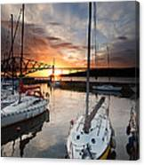 South Queensferry Harbour Canvas Print