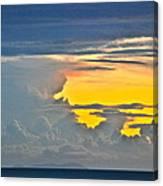 South Seas Yellow Canvas Print