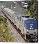 Southbound Amtrak Silver Star Canvas Print