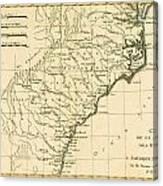 Southeast Coast Of America Canvas Print