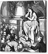 Southern Pardon Cartoon Canvas Print