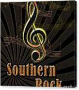 Southern Rock Music Poster Canvas Print