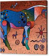 Southwestern Symbols Canvas Print