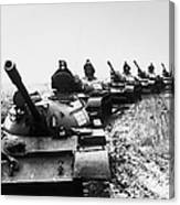 Soviet Tanks, 1978 Canvas Print
