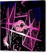 Space Battle Canvas Print