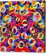 Space Bubbles Canvas Print