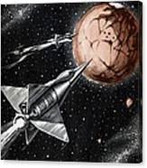 Space Exploration Science-fiction Artwork Canvas Print