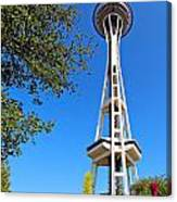 Space Needle Canvas Print