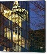 Space Needle Reflection 1 Canvas Print
