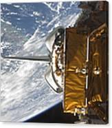 Space Shuttle Atlantis Payload Bay Canvas Print