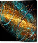 Space Storm Canvas Print