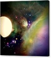 Space Vision Canvas Print