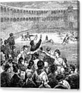 Spain: Bullfight, 1875 Canvas Print