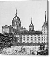 Spain: El Escorial, C1860 Canvas Print