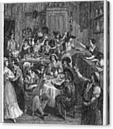 Spain: Inn, 1810 Canvas Print