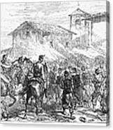 Spain: Second Carlist War Canvas Print